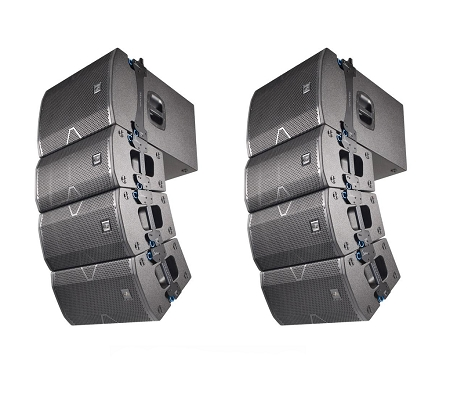 Impianto line Array 4000 watt