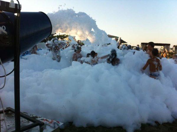 macchina schiuma party (500 lt liquido)
